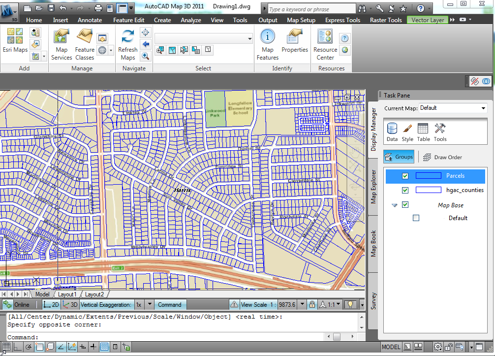 ESRI ArcGIS Online Maps inside AutoCAD | Total CAD Systems' Blog on